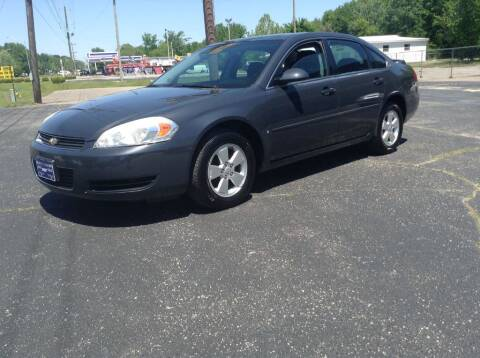 2008 Chevrolet Impala for sale at Darryl's Trenton Auto Sales in Trenton TN