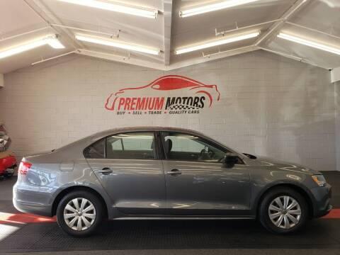 2014 Volkswagen Jetta for sale at Premium Motors in Villa Park IL