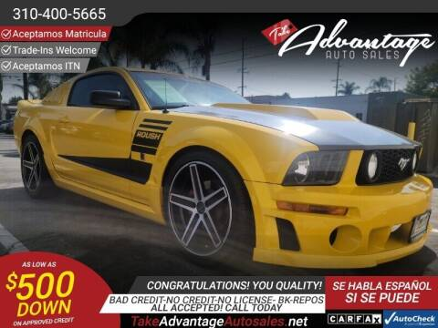 2005 Ford Mustang for sale at ADVANTAGE AUTO SALES INC in Bell CA