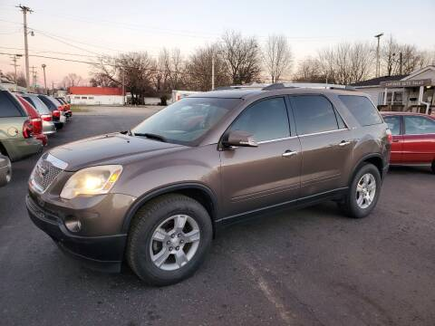 2010 GMC Acadia for sale at Cartraxx Auto Sales in Owensboro KY