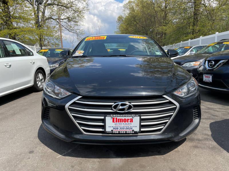 2017 Hyundai Elantra for sale at Elmora Auto Sales in Elizabeth NJ