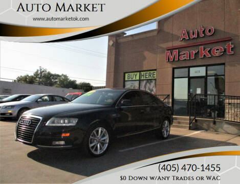 2010 Audi A6 for sale at Auto Market in Oklahoma City OK