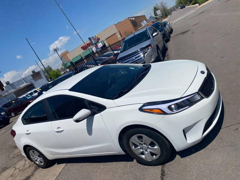 2017 Kia Forte for sale at Sanaa Auto Sales LLC in Denver CO