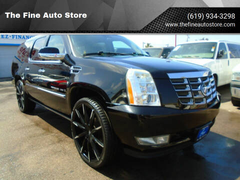 2009 Cadillac Escalade for sale at The Fine Auto Store in Imperial Beach CA