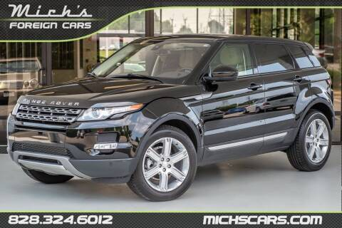 2015 Land Rover Range Rover Evoque for sale at Mich's Foreign Cars in Hickory NC