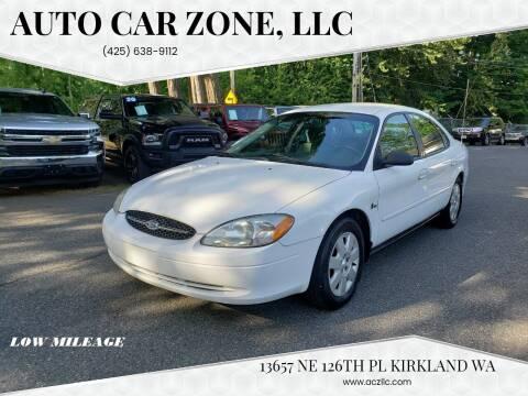 2000 Ford Taurus for sale at Auto Car Zone, LLC in Kirkland WA