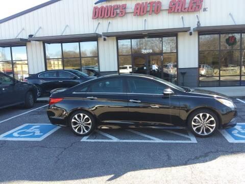 2014 Hyundai Sonata for sale at DOUG'S AUTO SALES INC in Pleasant View TN