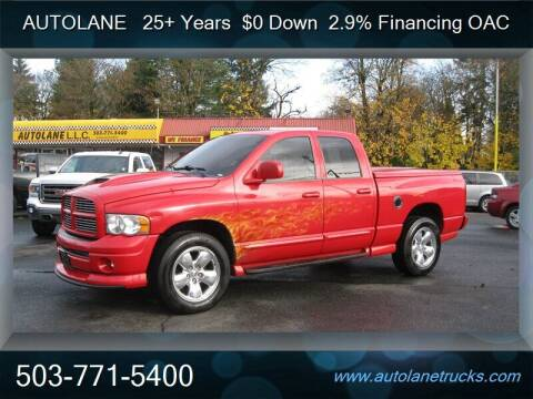 2004 Dodge Ram Pickup 1500 for sale at Auto Lane in Portland OR