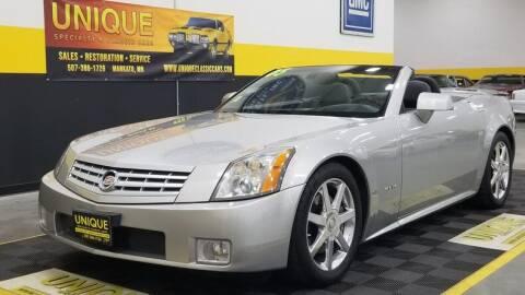 2005 Cadillac XLR for sale at UNIQUE SPECIALTY & CLASSICS in Mankato MN