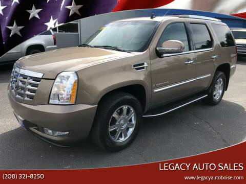 2007 Cadillac Escalade for sale at LEGACY AUTO SALES in Boise ID