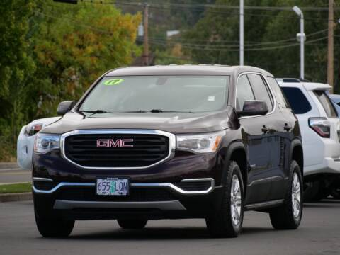 2017 GMC Acadia for sale at CLINT NEWELL USED CARS in Roseburg OR