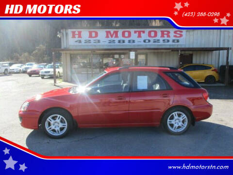 2005 Subaru Impreza for sale at HD MOTORS in Kingsport TN
