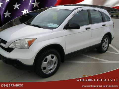 2008 Honda CR-V for sale at WALLBURG AUTO SALES LLC in Winston Salem NC