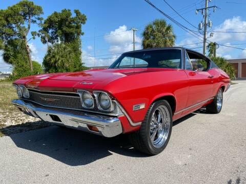 1968 Chevrolet Chevelle for sale at American Classics Autotrader LLC in Pompano Beach FL