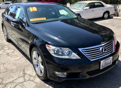 2010 Lexus LS 460 for sale at Eden Motor Group in Los Angeles CA