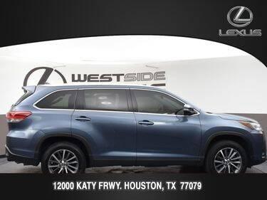 2019 Toyota Highlander for sale at LEXUS in Houston TX