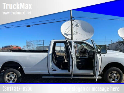 2012 RAM Ram Pickup 2500 for sale at TruckMax in N. Laurel MD
