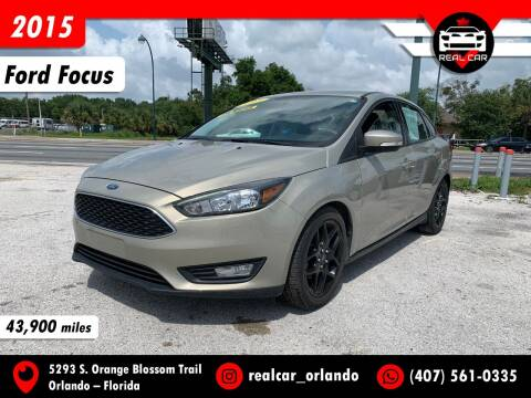2015 Ford Focus for sale at Real Car Sales in Orlando FL
