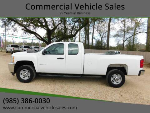 2013 Chevrolet Silverado 2500HD for sale at Commercial Vehicle Sales in Ponchatoula LA