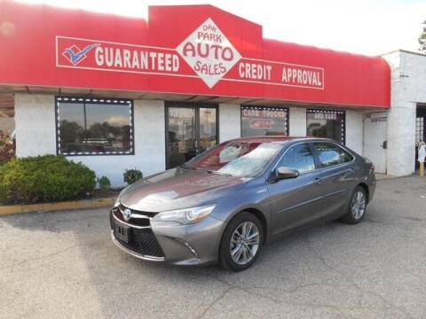 2016 Toyota Camry Hybrid for sale at Oak Park Auto Sales in Oak Park MI