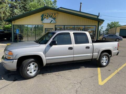 2005 GMC Sierra 1500 for sale at RPM AUTO SALES in Lansing MI