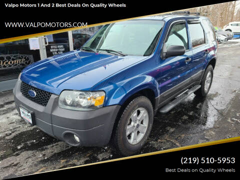 2007 Ford Escape for sale at Valpo Motors 1 and 2  Best Deals On Quality Wheels in Valparaiso IN
