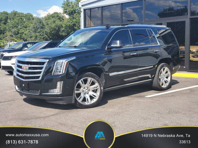 2017 Cadillac Escalade for sale at Automaxx in Tampa FL