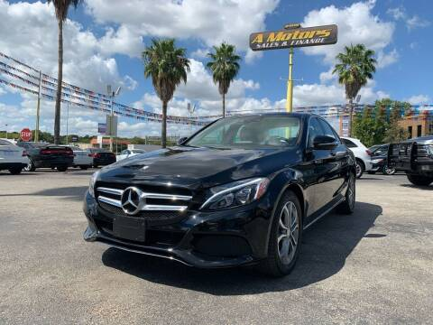 2015 Mercedes-Benz C-Class for sale at A MOTORS SALES AND FINANCE in San Antonio TX