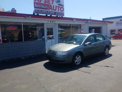 2006 Saturn Ion for sale at Apsey Auto in Marshfield WI