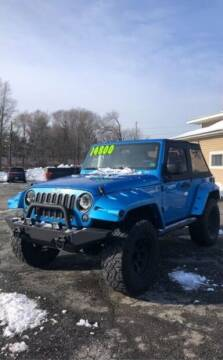 2010 Jeep Wrangler for sale at Cool Breeze Auto in Breinigsville PA