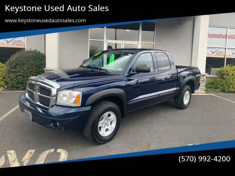 2007 Dodge Dakota for sale at Keystone Used Auto Sales in Brodheadsville PA