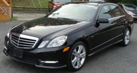 2012 Mercedes-Benz E-Class for sale at Trimax Auto Group in Baltimore MD