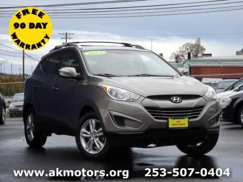 2012 Hyundai Tucson for sale at AK Motors in Tacoma WA