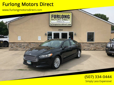 2015 Ford Fusion Hybrid for sale at Furlong Motors Direct in Faribault MN