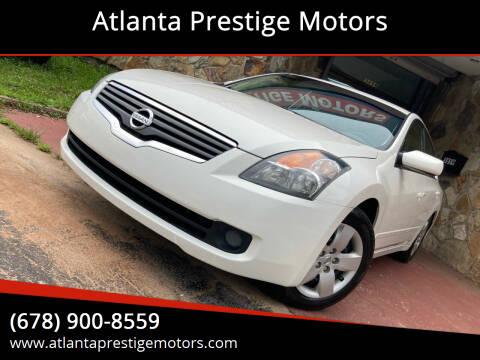 2007 Nissan Altima for sale at Atlanta Prestige Motors in Decatur GA