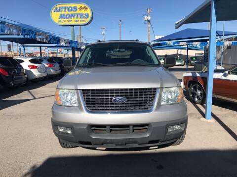 2005 Ford Expedition for sale at Autos Montes in Socorro TX