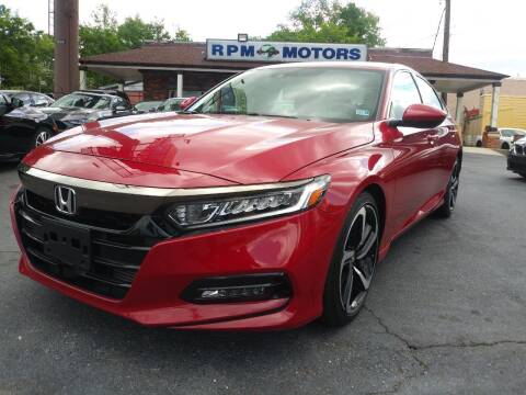 2019 Honda Accord for sale at RPM Motors in Nashville TN