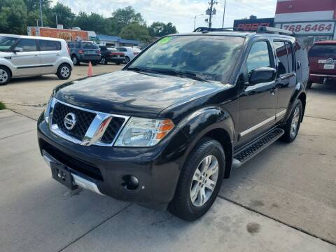 2008 Nissan Pathfinder for sale at Quallys Auto Sales in Olathe KS