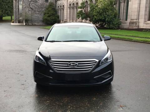 2017 Hyundai Sonata for sale at First Union Auto in Seattle WA