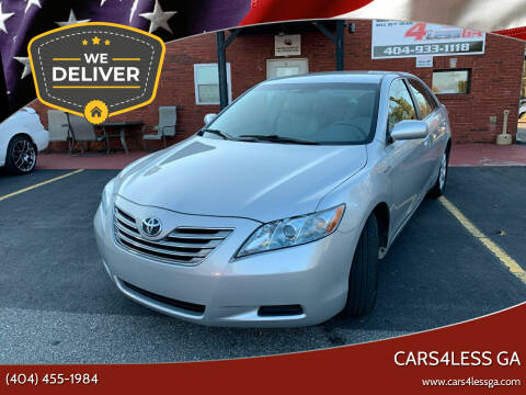 2007 Toyota Camry Hybrid for sale at Cars4Less GA in Alpharetta GA