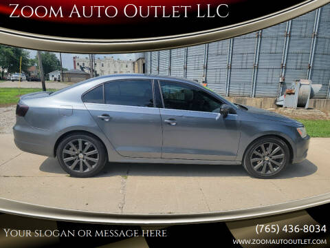 2013 Volkswagen Jetta for sale at Zoom Auto Outlet LLC in Thorntown IN