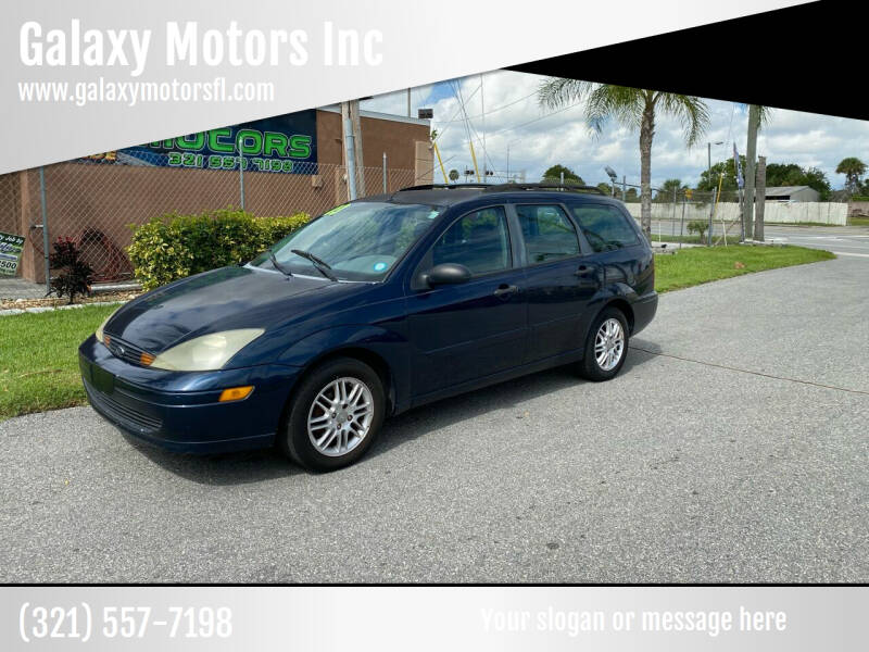2003 Ford Focus for sale at Galaxy Motors Inc in Melbourne FL