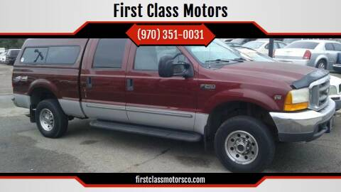 1999 Ford F-250 Super Duty for sale at First Class Motors in Greeley CO