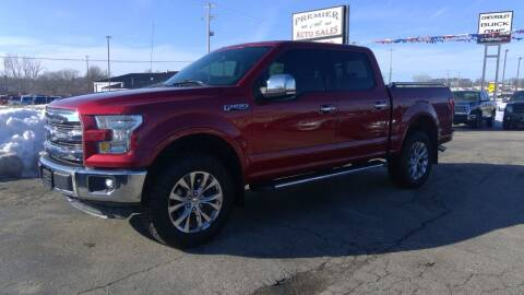 2016 Ford F-150 for sale at Premier Auto Sales Inc. in Big Rapids MI