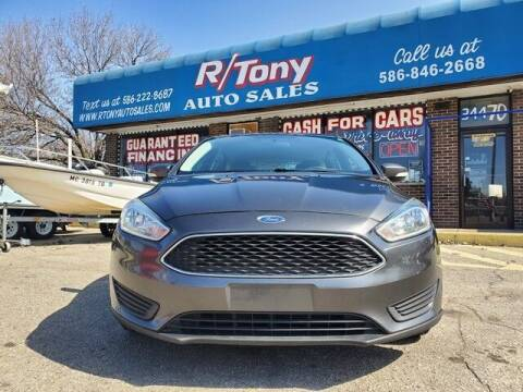 2015 Ford Focus for sale at R Tony Auto Sales in Clinton Township MI