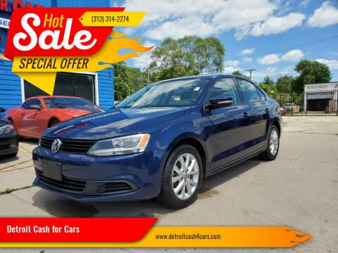 2011 Volkswagen Jetta for sale at Detroit Cash for Cars in Warren MI
