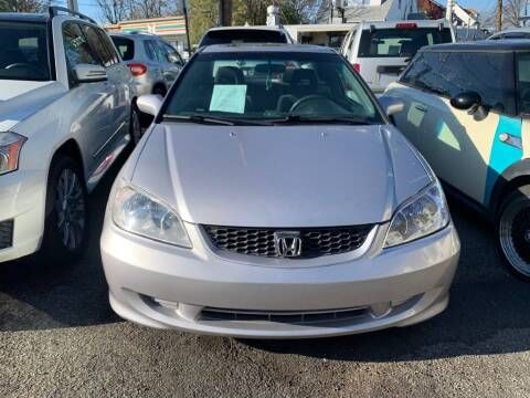 2004 Honda Civic for sale at Park Avenue Auto Lot Inc in Linden NJ