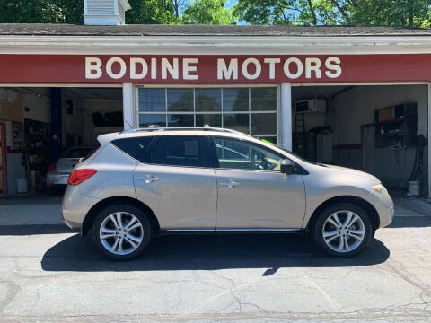 2009 Nissan Murano for sale at BODINE MOTORS in Waverly NY