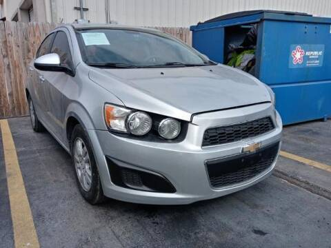 2015 Chevrolet Sonic for sale at Auto Plaza in Irving TX