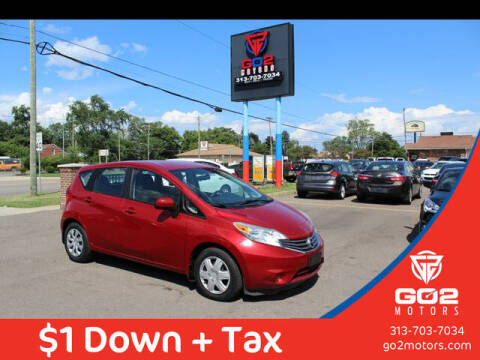 2014 Nissan Versa Note for sale at Go2Motors in Redford MI